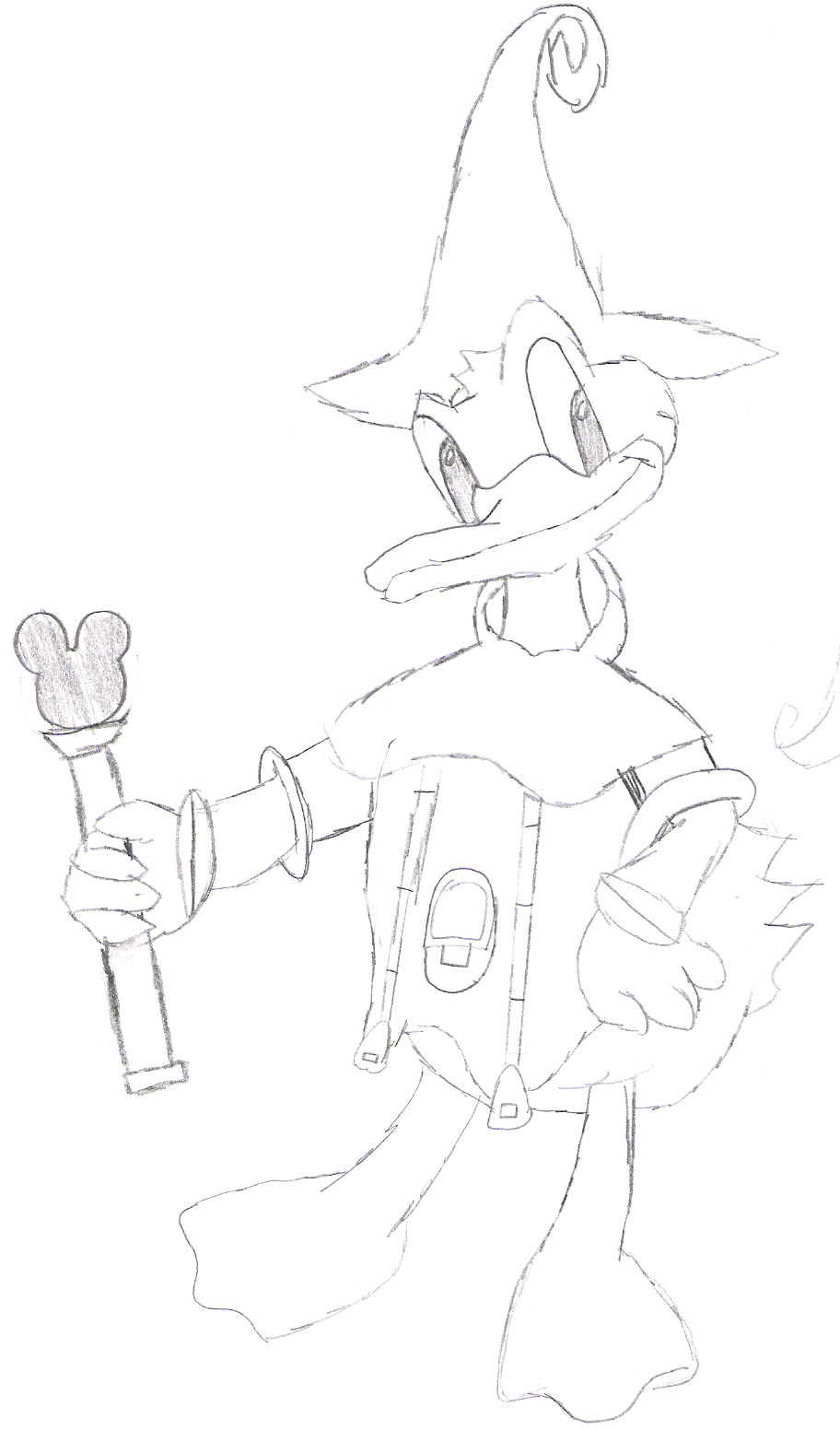 donald sketch by sora_strife