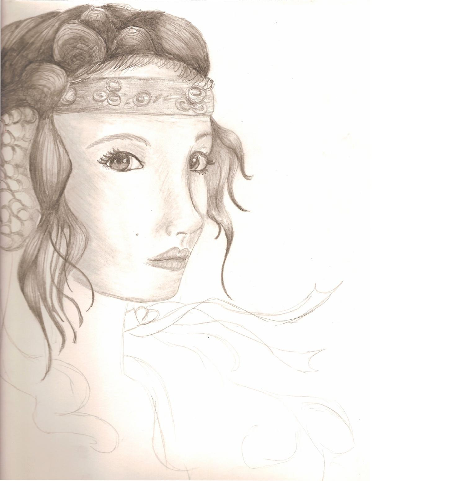 Padme Amidala (in progress) by southof_InSaNe