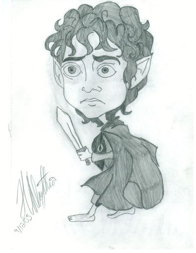 Frodo Baggins by stages00shock