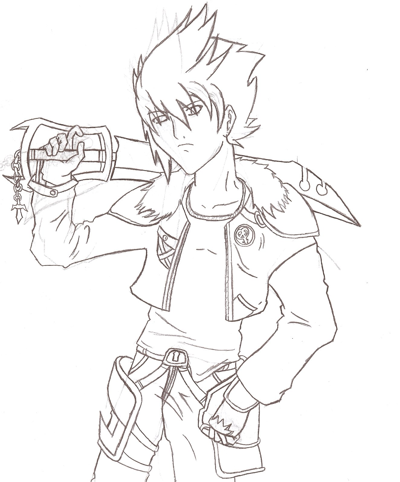 A new Keyblade wielder has entered the fray! by steppingxlxintoxlxdarkness