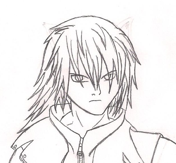 Riku Sketch (1) by steppingxlxintoxlxdarkness