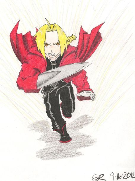 Edward Elric by stormthief19