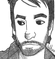 David Cook Sketch by stripedjumper