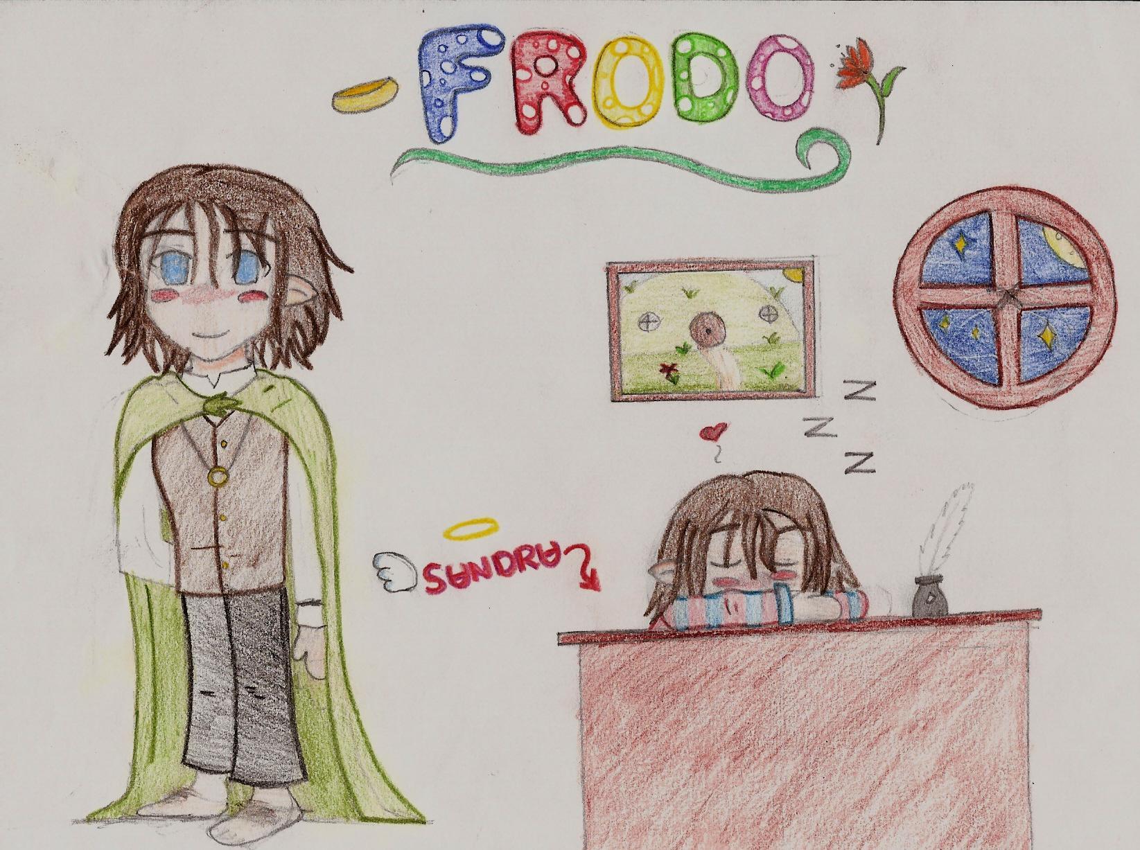 Chibi Frodo by stupot