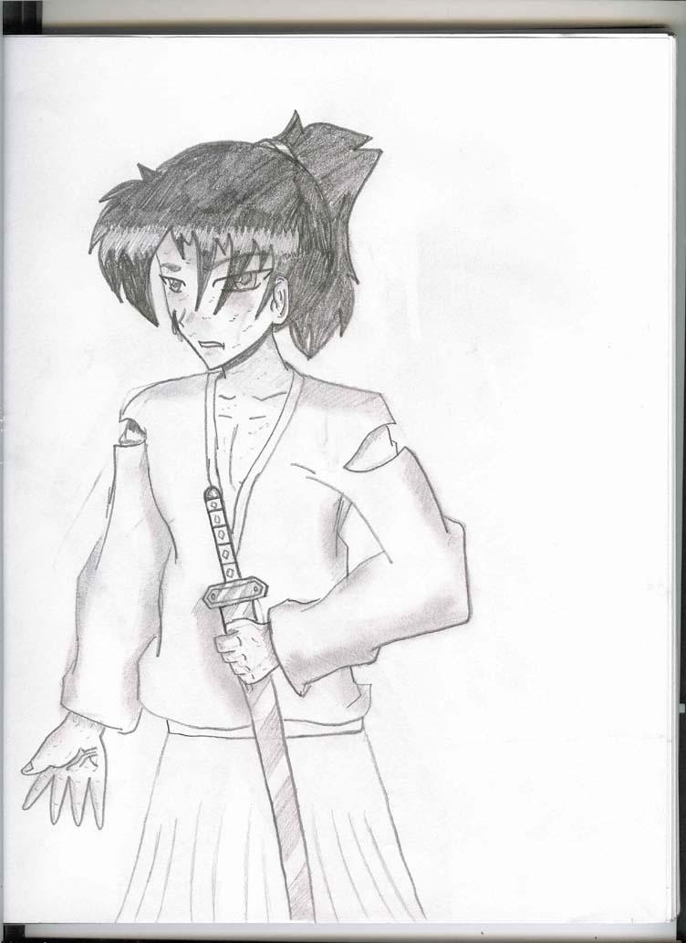 a samurai by supahfreak