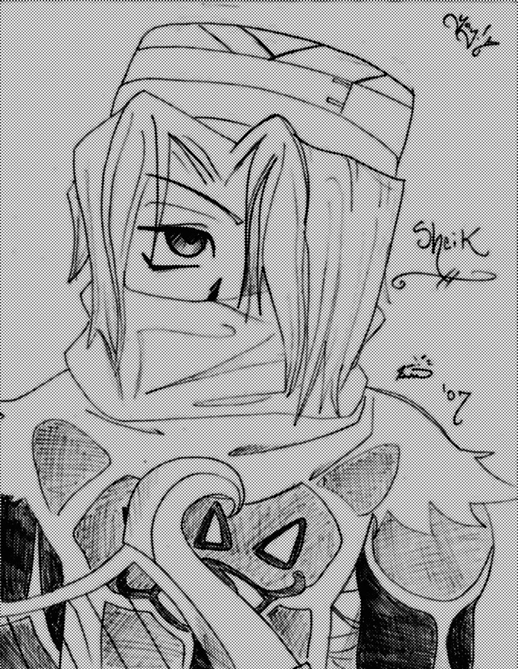 Tis a Sheik Sketchie!! by supergirlcomix