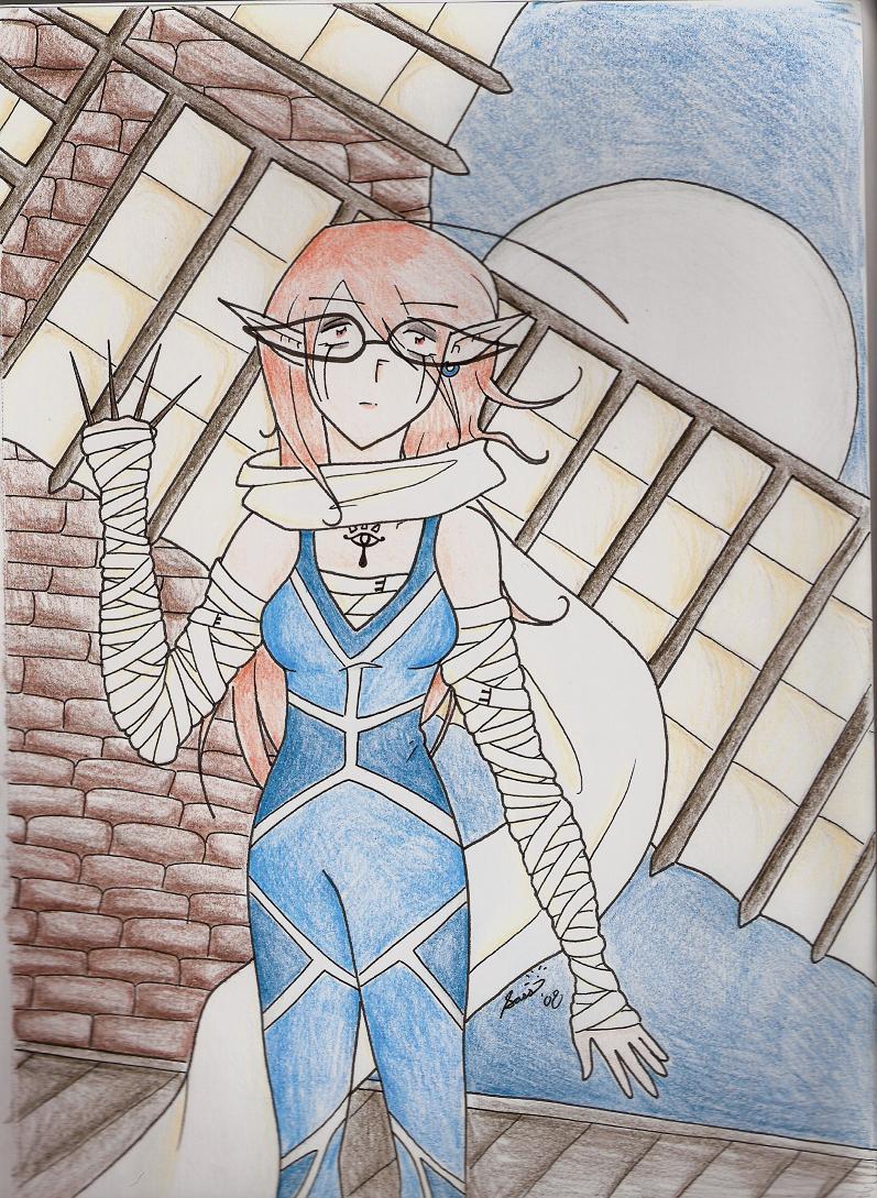 Sheikah Solitude by supergirlcomix