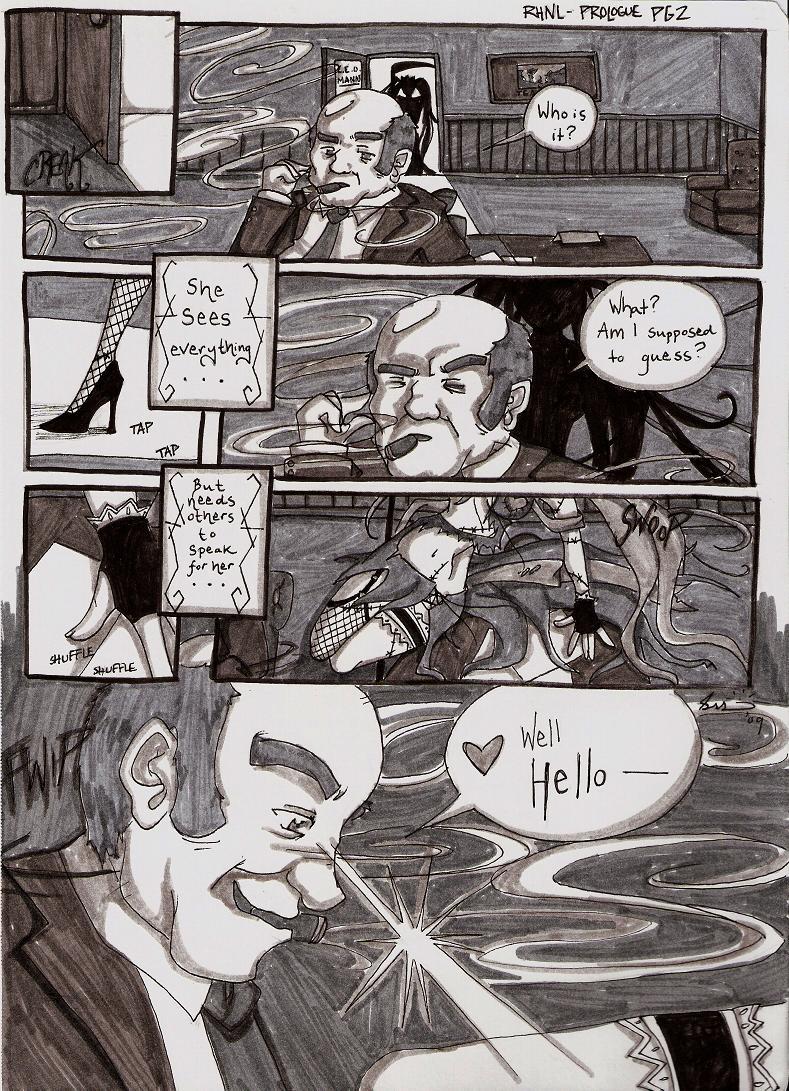 RHNL- Prologue pg. 2 by supergirlcomix