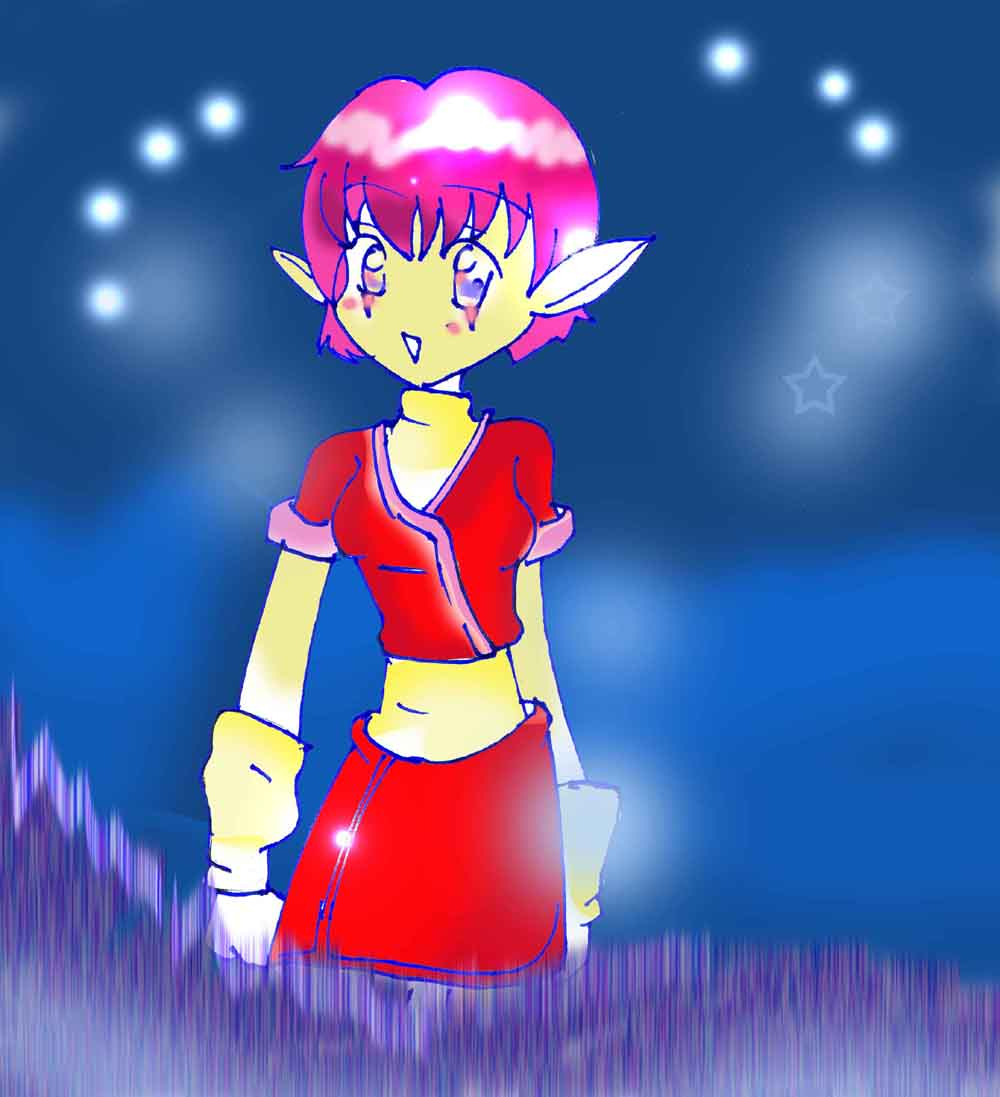aelita :manga by supersonicblastathon