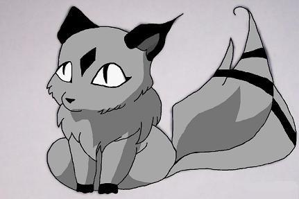 Kirara in shades of grey by sweet16_angst