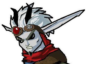 *dark jak* head lol by sword_dragon