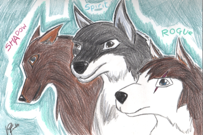 Family pic balto style by sword_dragon