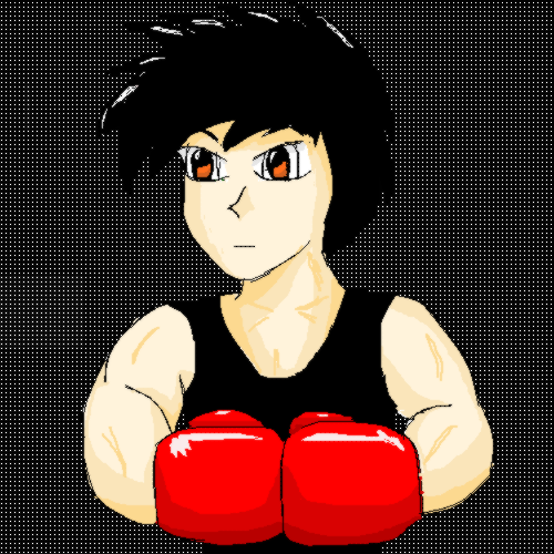 Kirby Oekaki: Boxer by TKGBIdeon
