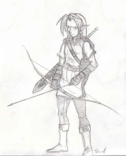 Adult Link by T_zora_R