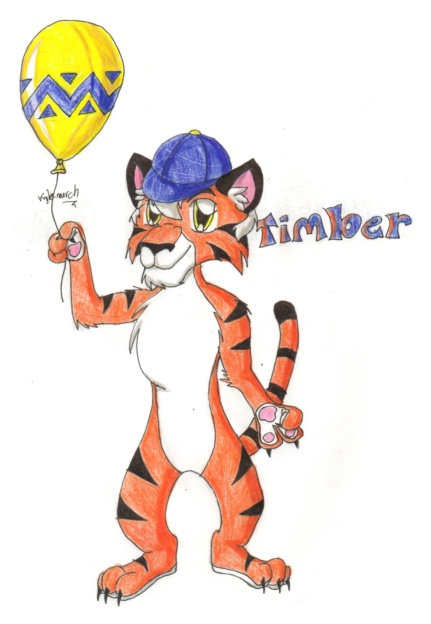 """Timber from """"Diddy kong racing"""" by Tabery"""