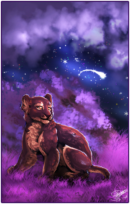 Purple Night by Taiga
