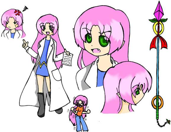Character Design: Lumina by Taina_Kumori