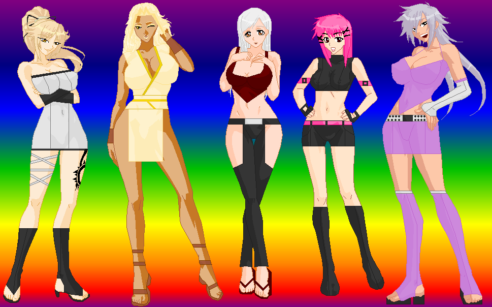 My DOA Girls by TainedOneNinja
