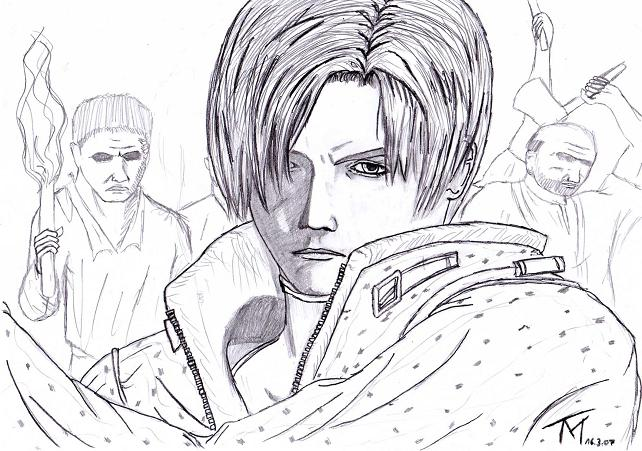 Leon S: Kennedy by Taiven