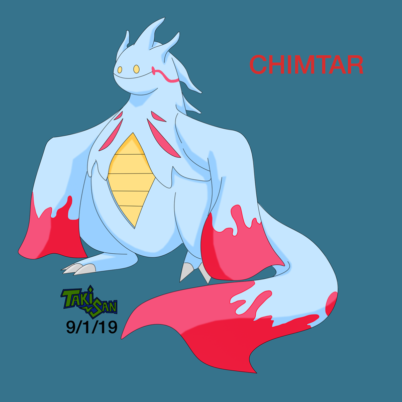 Chimtar pokemon fusion by TakeshiAsakura