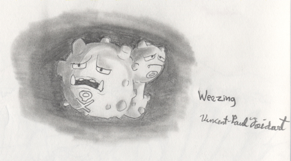 Weezing by TapeJara