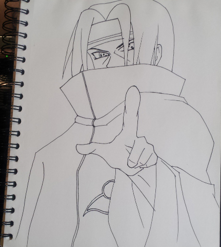 Itachi Sketch by Task002