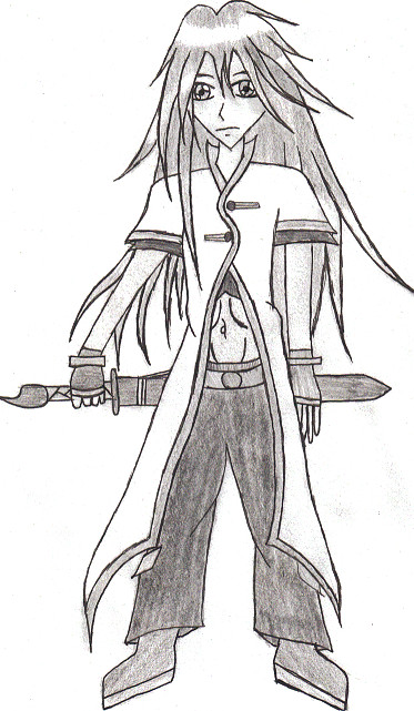 Luke fon Fabre [Shaded] by TearTheMystic