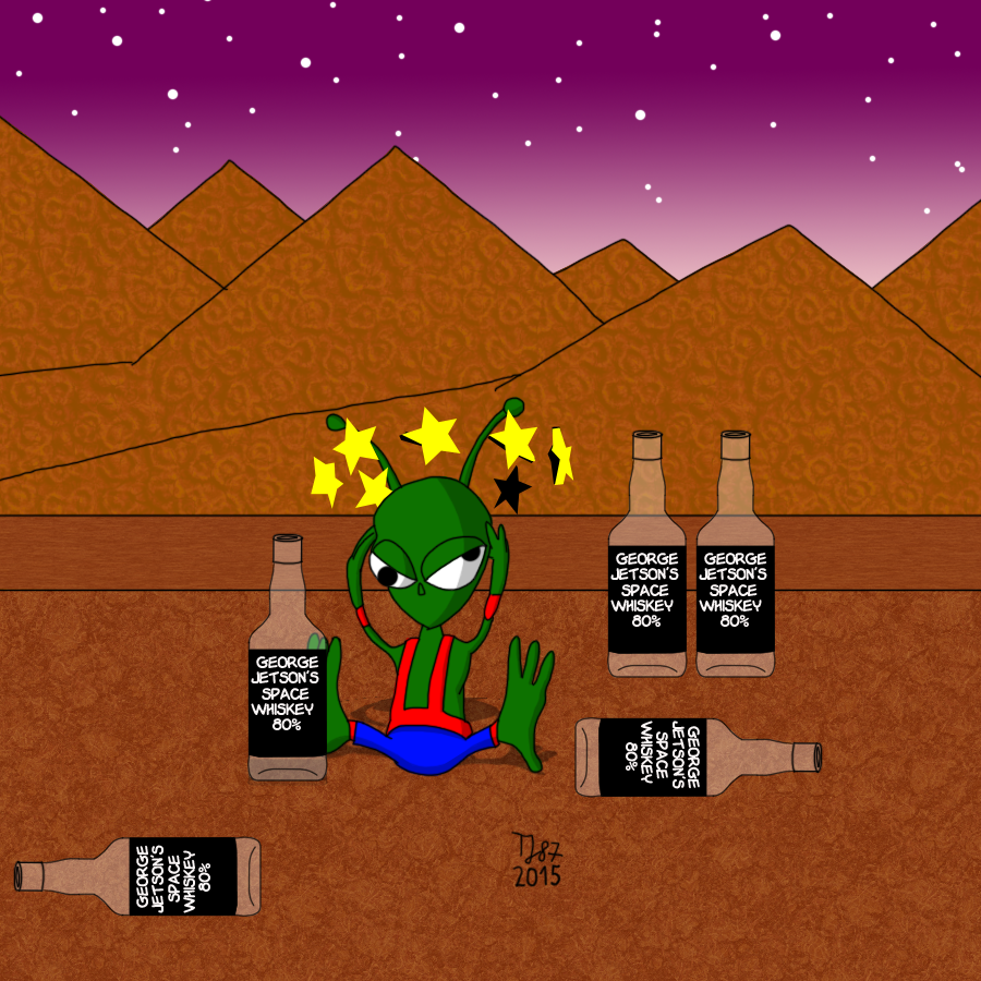 Al the Alcoholic Alien by TeeJay87