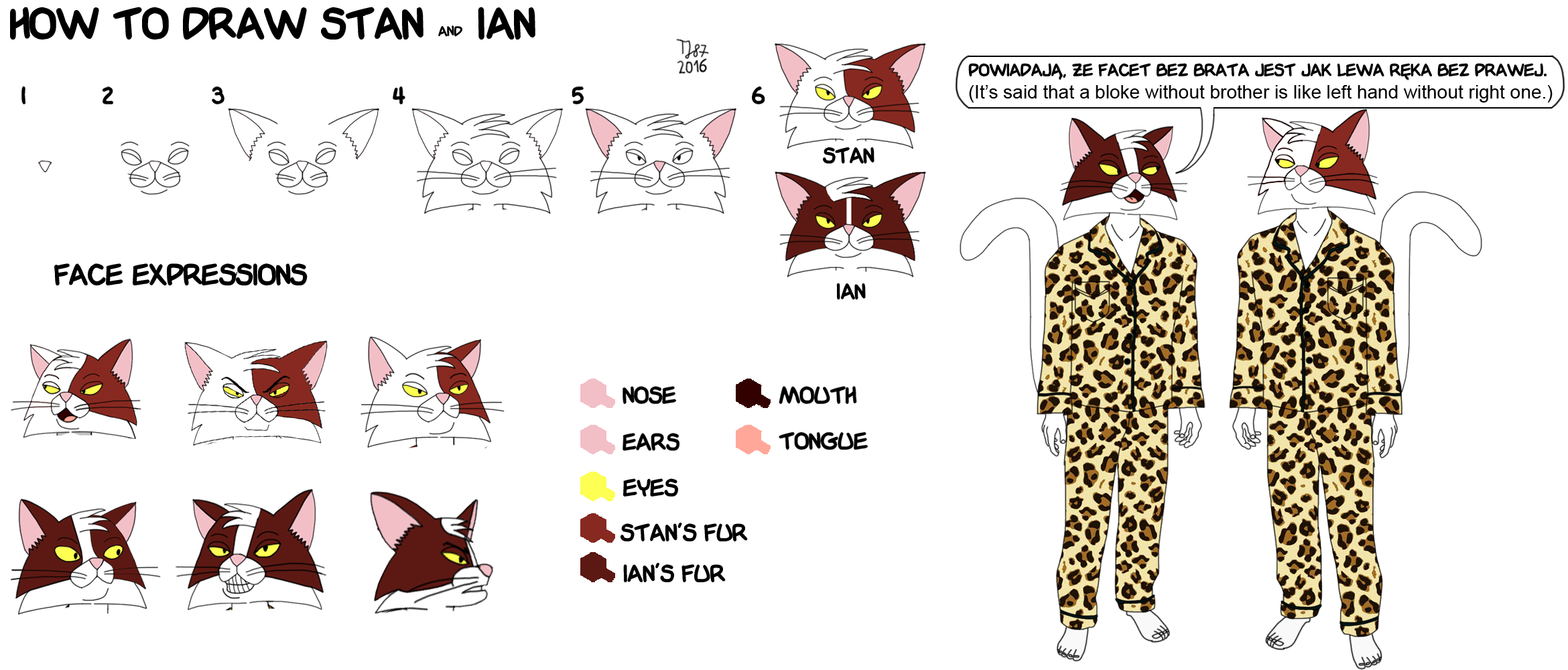 Stan and Ian Tutorial - step by step by TeeJay87