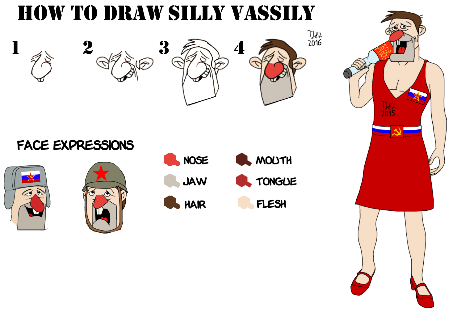 Silly Tutorial step by step by TeeJay87