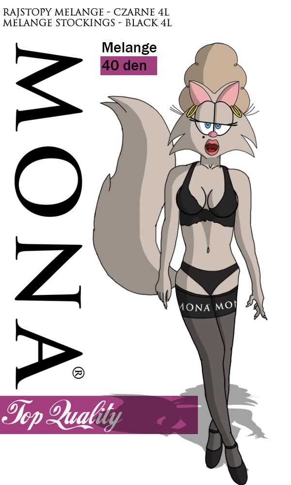 Mona in MONA Stockings by TeeJay87