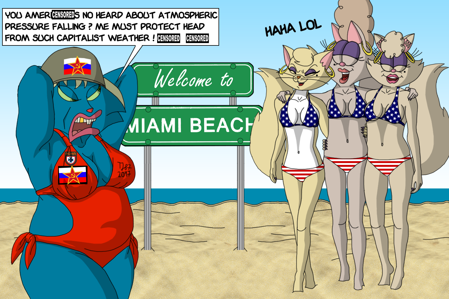 Team Pussycat: Misplaced in Miami II by TeeJay87