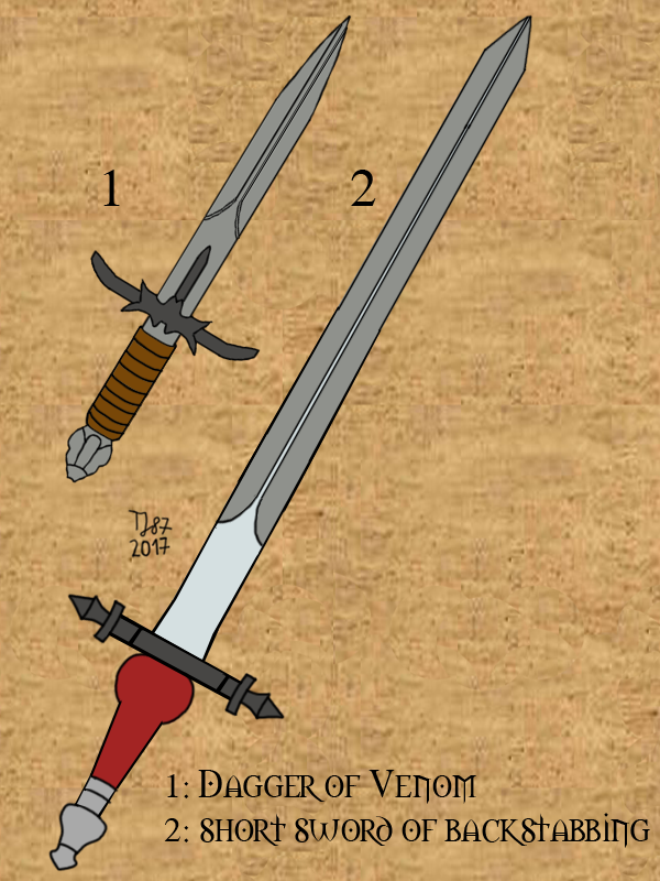 Baldur's Gate Assassin Set by TeeJay87