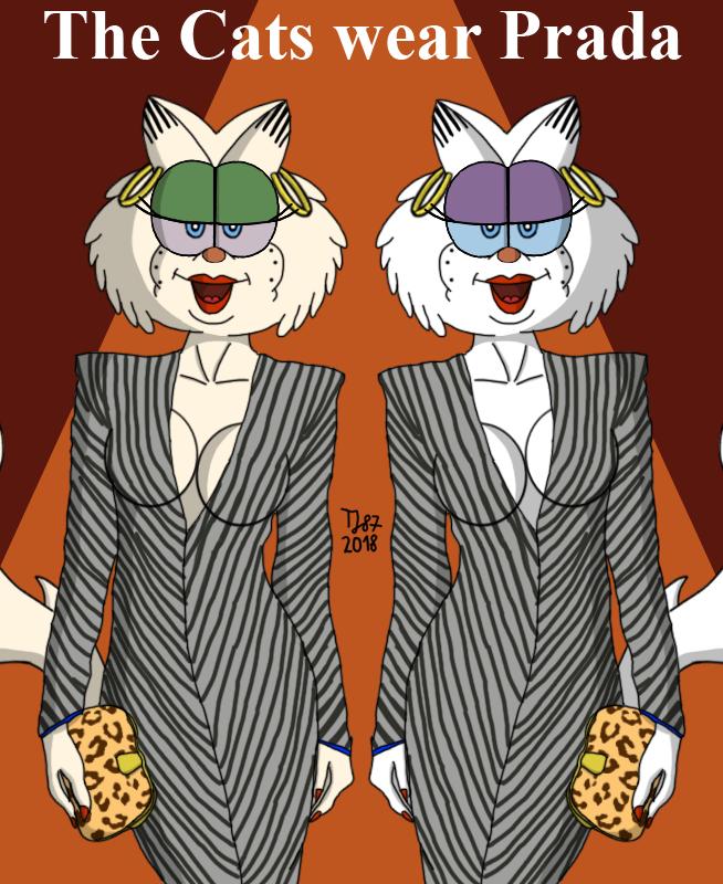 The Cats Wear Prada by TeeJay87