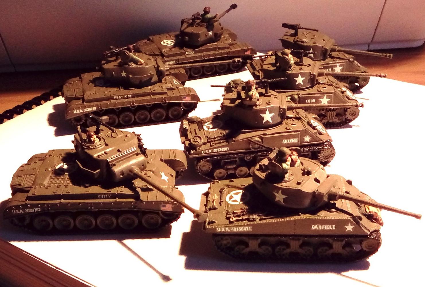 Custom 1/100 US Tank Company part 1 by TeeJay87