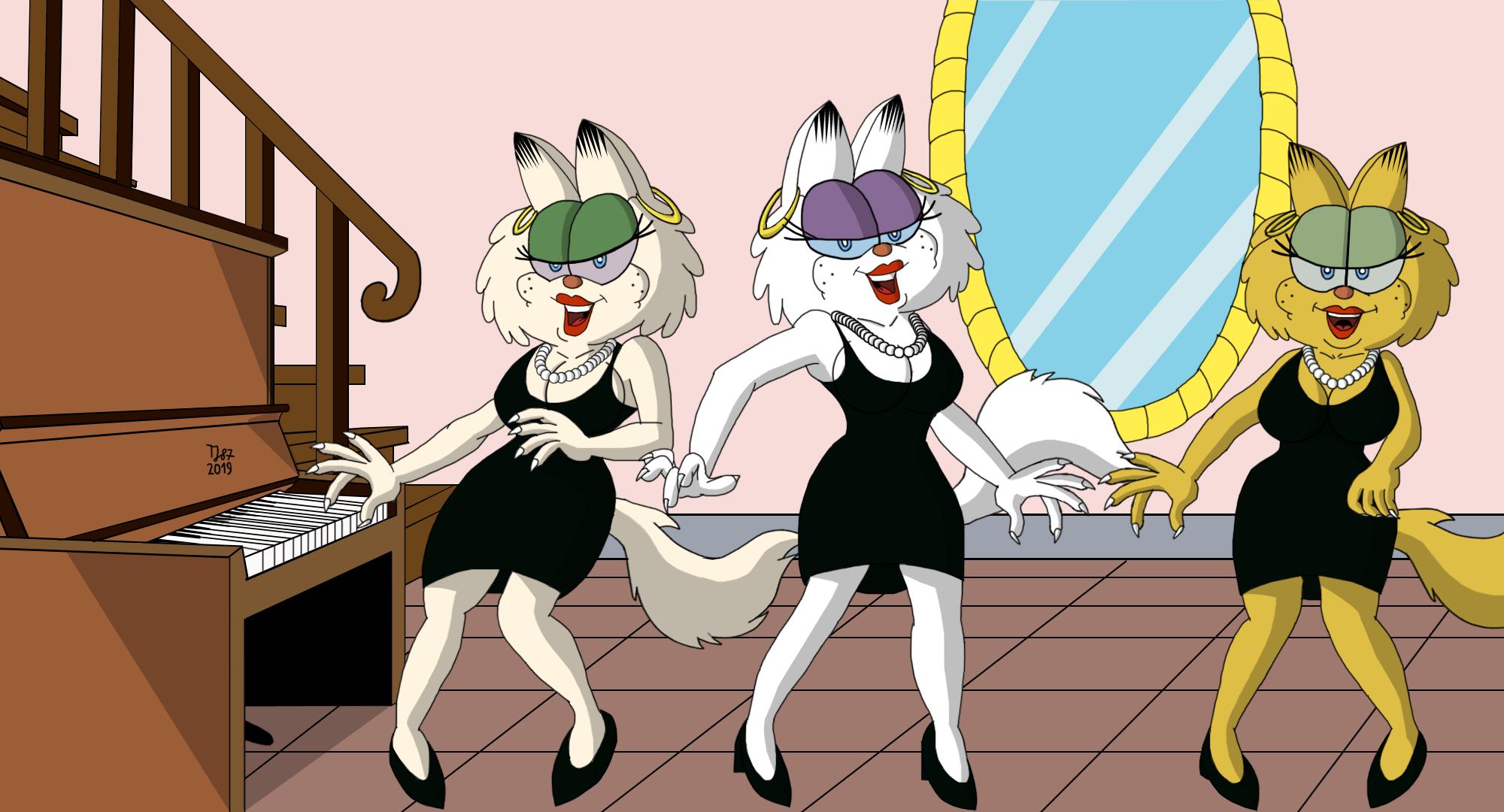 The Three Purrsians by TeeJay87
