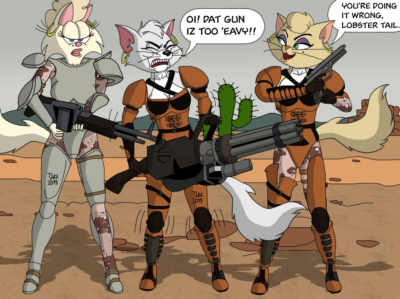 The Pussycat Sisterhood by TeeJay87