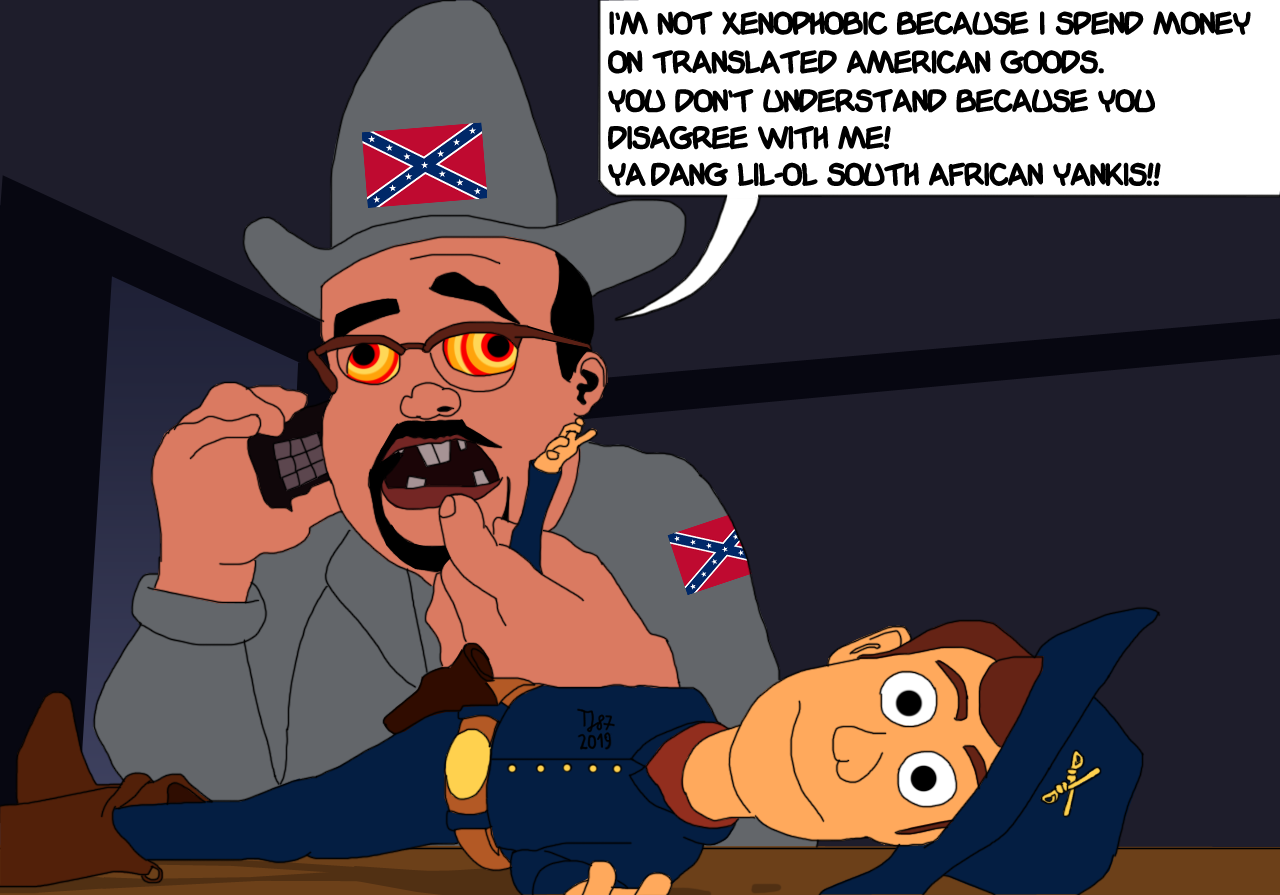 The Dixie will Fail Again by TeeJay87