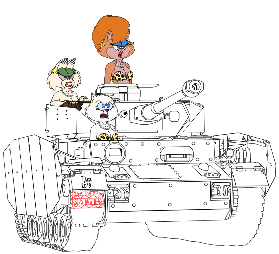 Panzer IV H and the Persians (WIP) by TeeJay87
