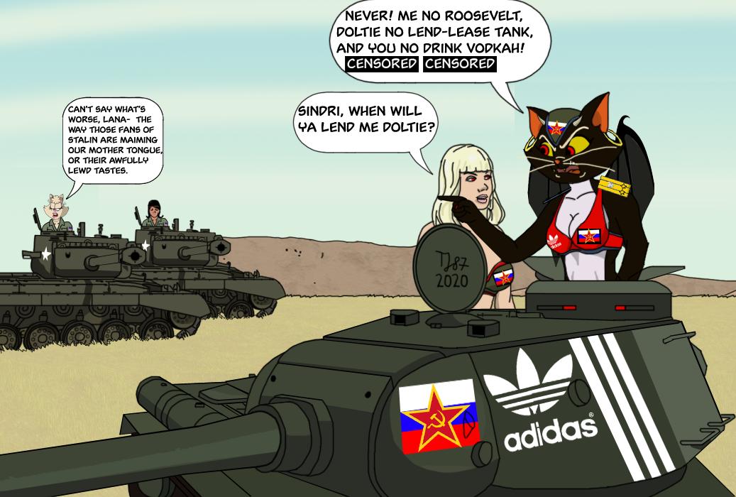Girls und Panzer: Cheeki Breeki Edition by TeeJay87