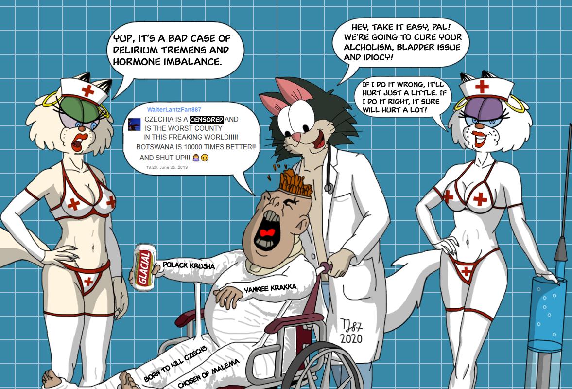 Calling Doctor Pussycat: Bahiano Bladder Encephalopathy by TeeJay87