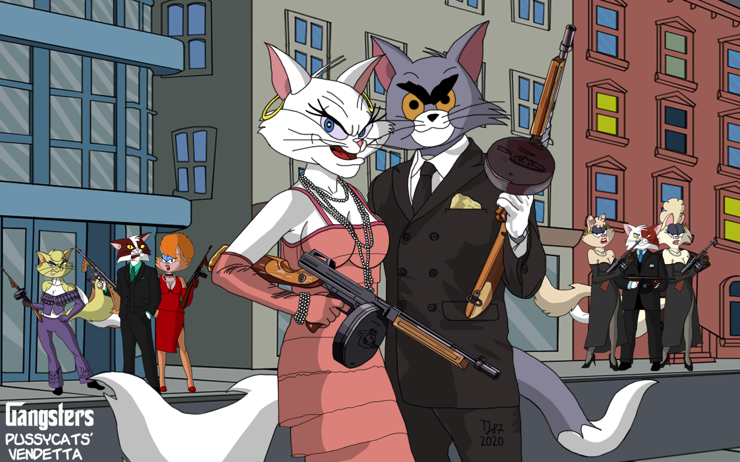The Pussycats Vendetta 2020 by TeeJay87