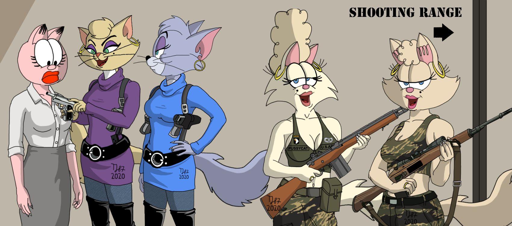 The Pussycat Sisterhood: Firearm Training by TeeJay87