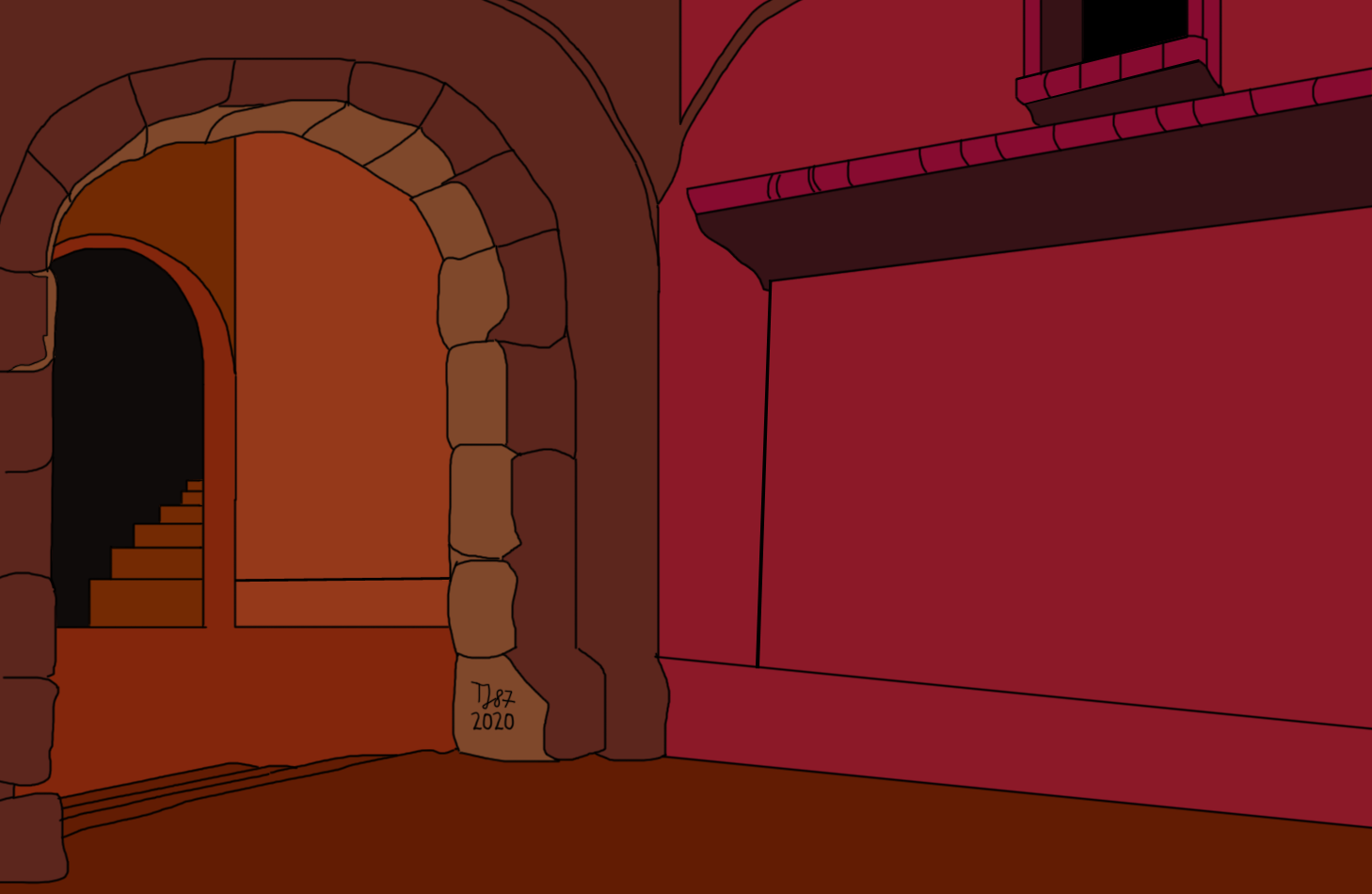 An Old-School Dungeon by TeeJay87