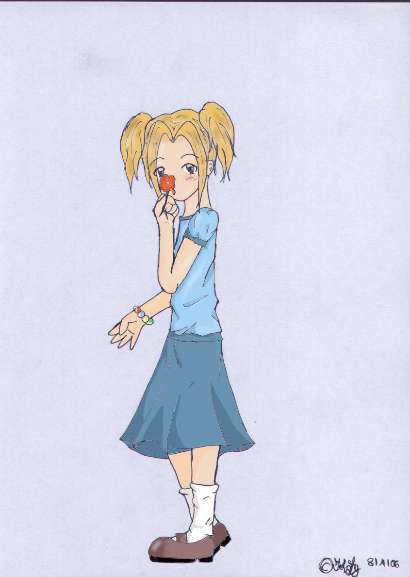 Janne as little girl *lol* by Teemu