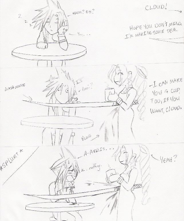 "Aeris...WTF?!"" by TenthDivine"