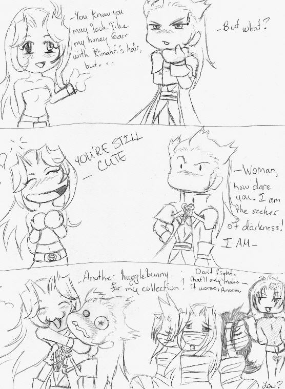 Ansem Suffers the Wrath of...fangirl Drana!(KH) by TenthDivine