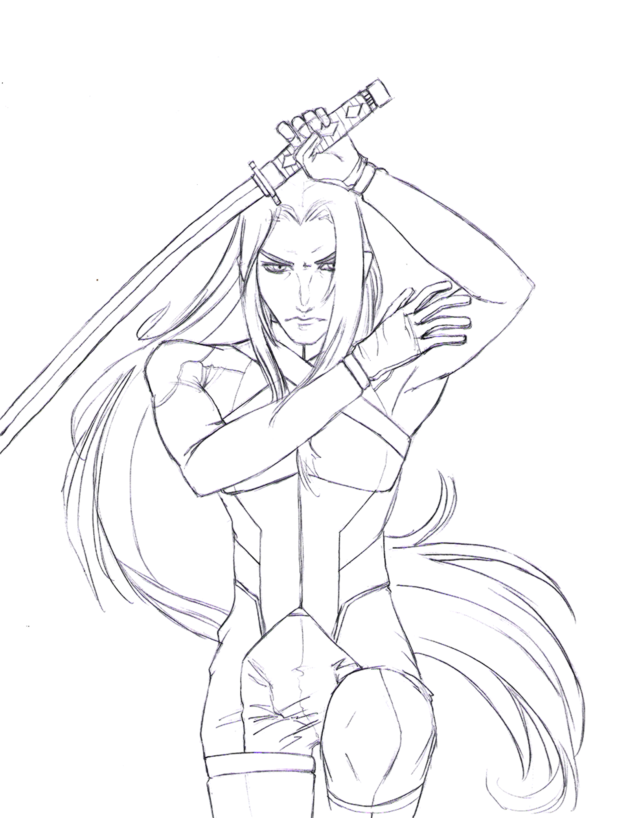 a new world sephiroth I by TenthDivine