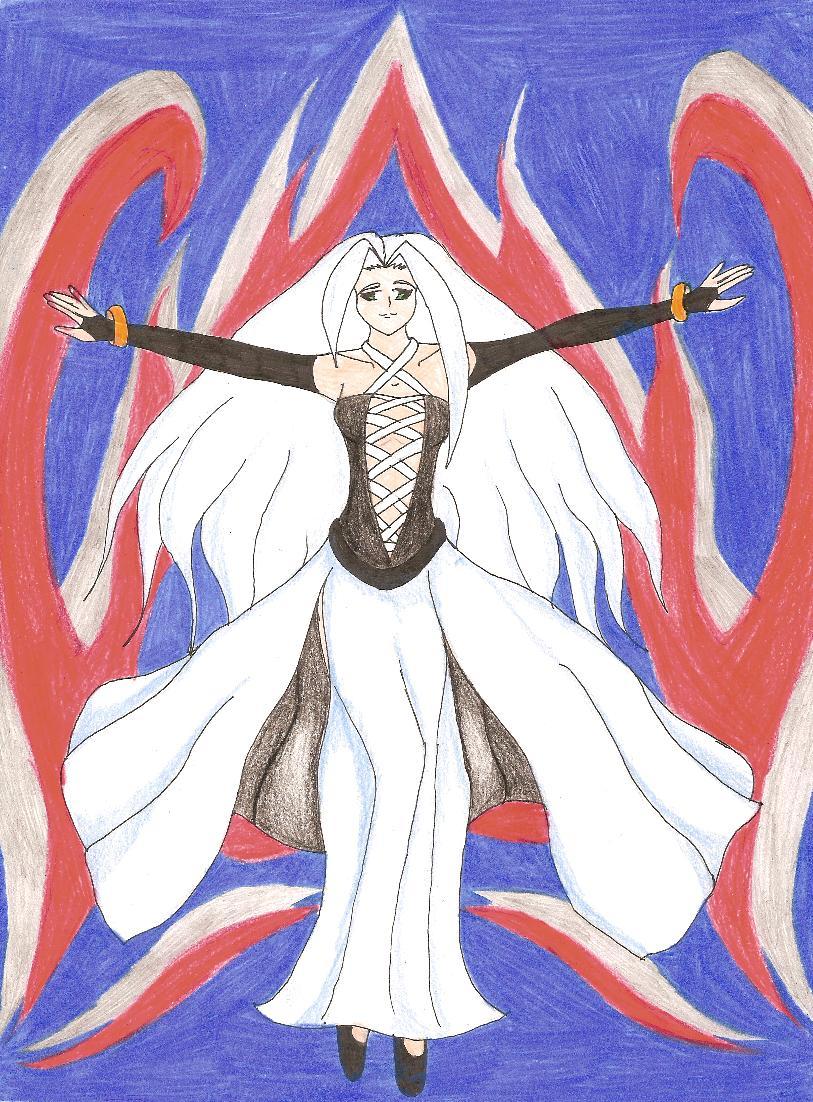 my version of Jenova by Terra_Kitsune