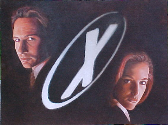 X-Files Fight The Future by TerryXart